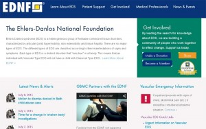 The Ehlers-Danlos national foundation (США)